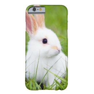 Conejo blanco funda barely there iPhone 6