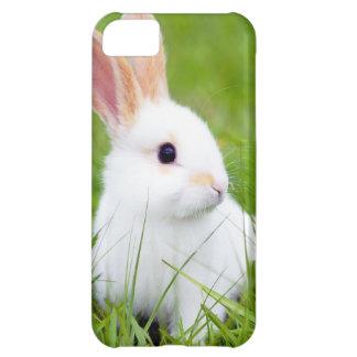 Conejo blanco funda para iPhone 5C