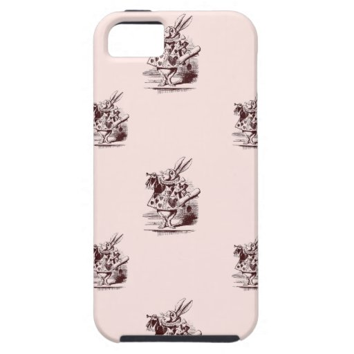 Conejo blanco funda para iPhone SE/5/5s