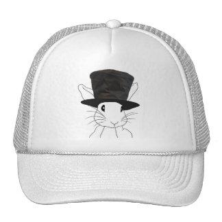 Conejo blanco gorras de camionero