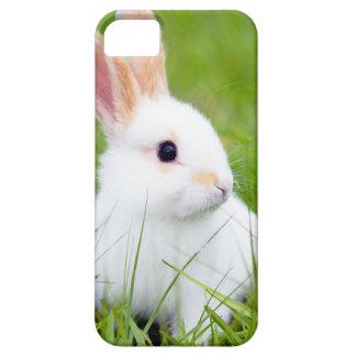 Conejo blanco iPhone 5 carcasa