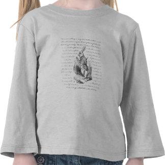 ¡Conejo blanco - oh! ¡Oh! ¡Seré atrasado! Camisetas