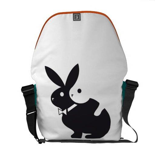conejo caliente bolsas de mensajería