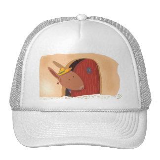 Conejo con el gorra de la cereza, beige ligero