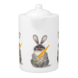 Conejo con la zanahoria