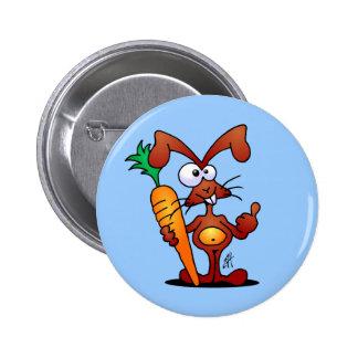 Conejo con la zanahoria pin