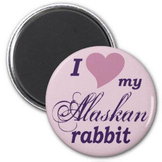 Conejo de Alaska Imán