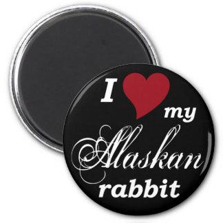 Conejo de Alaska Iman