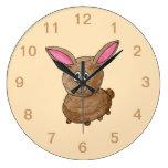Conejo de Brown Relojes