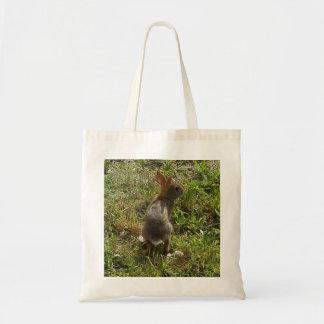 Conejo de conejito bolsas lienzo