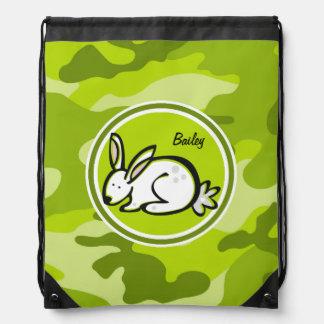 Conejo de conejito; camo verde claro, camuflaje mochilas