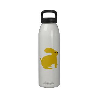 Conejo de conejito de Lil Brown Botellas De Agua Reutilizables