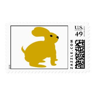 Conejo de conejito de Lil Brown Timbres Postales