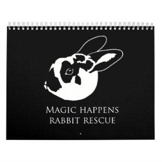 Conejo de conejito de MHRR Honeybadger calendario