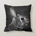 Conejo de conejito del conejo de rabo blanco del cojin