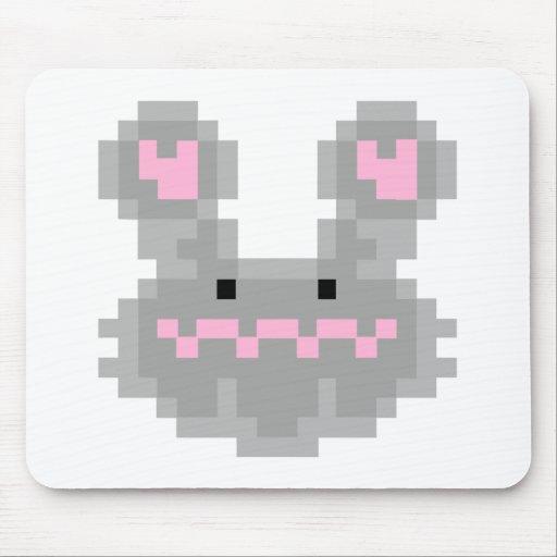 Conejo de conejito del pixel alfombrilla de raton