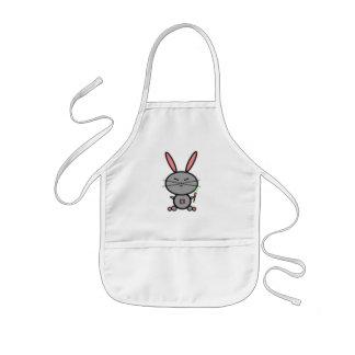 Conejo de conejito delantal infantil
