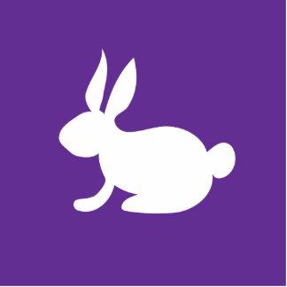 Conejo de conejito fotoescultura vertical