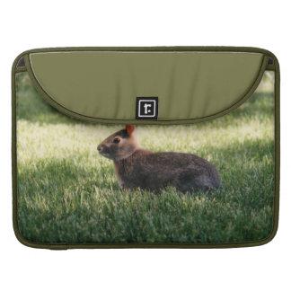 Conejo de conejito funda para macbooks