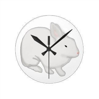 Conejo de conejito gris relojes