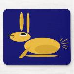 Conejo de conejito impresionante de los BU Mousepa Tapete De Ratón