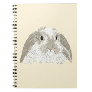 Conejo de conejito libreta espiral