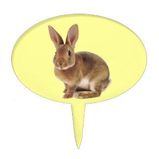 Conejo de conejito lindo de Kawaii Palillos De Tarta