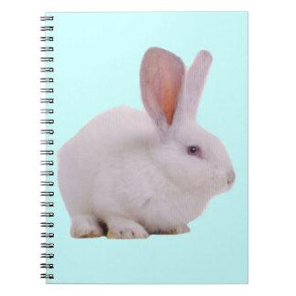 Conejo de conejito lindo de Kawaii Libreta
