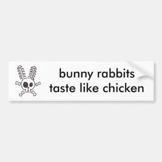 conejo de conejito pegatina para auto