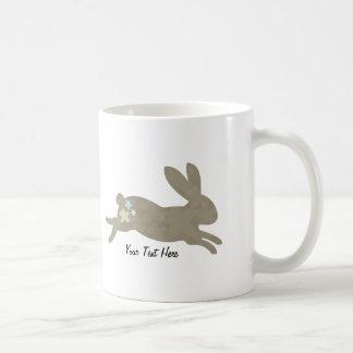 Conejo de conejito personalizado taza de café