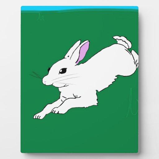 Conejo de conejito placas de madera