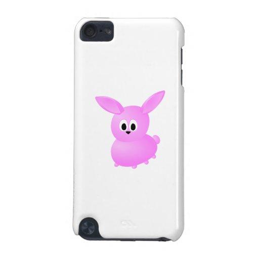 Conejo de conejito rosado lindo funda para iPod touch 5G