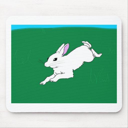 Conejo de conejito tapetes de raton