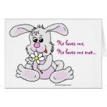Conejo de conejito tarjeta