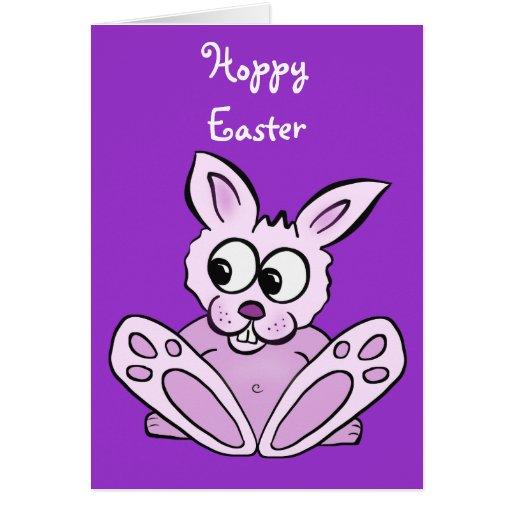 Conejo de conejito tarjeta pequeña