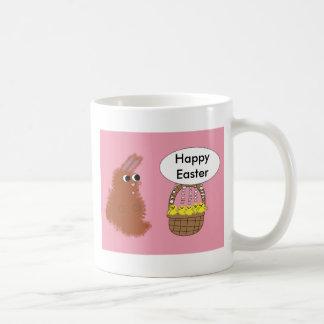 Conejo de conejito y taza del personalizable de