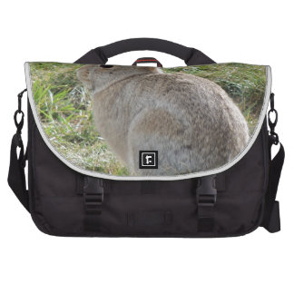 Conejo de conejo de rabo blanco bolsas de portátil