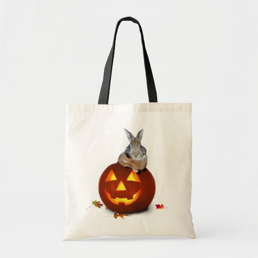 Conejo de Halloween Bolsa