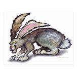 Conejo de Jack Postal