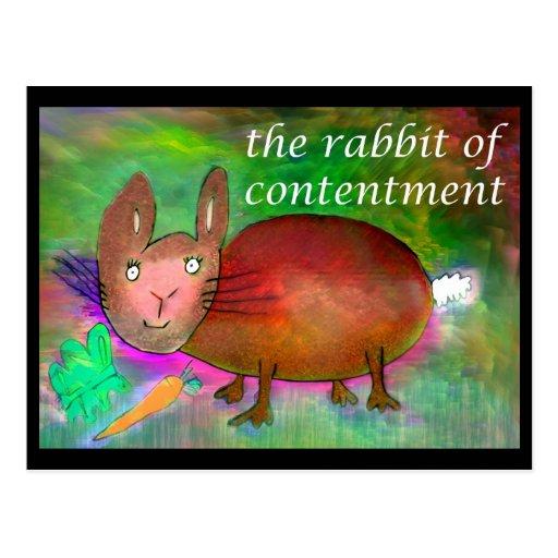 Conejo de la alegría [postal]