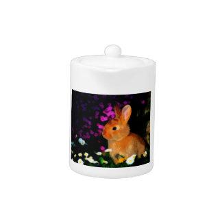 Conejo de la flor
