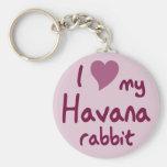 Conejo de La Habana Llavero Personalizado