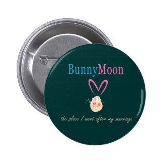 Conejo de la luna de miel pins