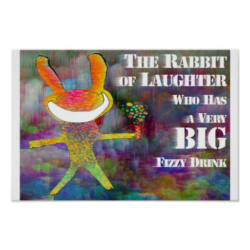 Conejo de la risa [poster] póster