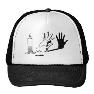 Conejo de la sombra por Lightillusions.com Gorra