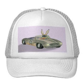 Conejo de las carreras de coches gorro