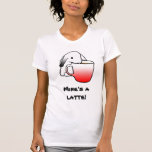 ¡Conejo de Latte! camiseta del  