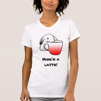 ¡Conejo de Latte! camiseta del |