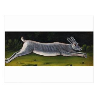 Conejo de Niko Pirosmani Tarjeta Postal