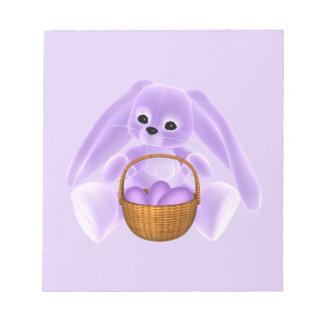 Conejo de Pascua de la lila Blocs